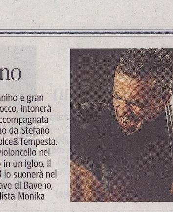 Corriere Baveno 2012 - Cover