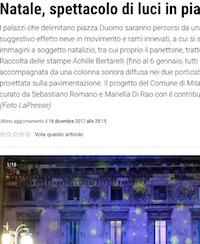 Natale d'incanto… a Milano